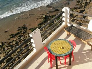 terrace view apartment in taghazout village, Taghazout