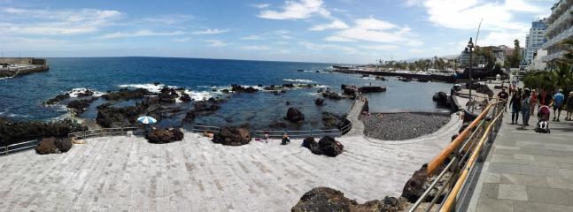 Playa y Paseo de San Telmo.    100 m. del apartamento