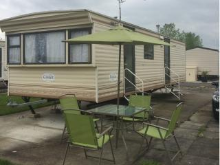 Caravan for hire at Southview  Park Skegness