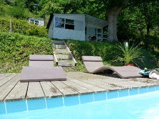 Riverside Chalet near Biarritz with heated pool(3), La Bastide Clairence