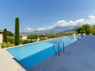 Stylish villa with a sea view, Calvi