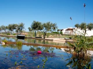 Monte Flora mit biologischem Schwimmteich, gemütlich und privat
