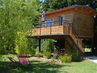 Cabane moderne en Provence, Saumane-de-Vaucluse