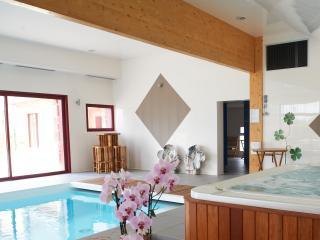 Gîte Marguerite 4 pers. avec piscine et spa, Plouarzel