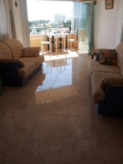 One bedroom apartment with panoramic sea views., Calahonda