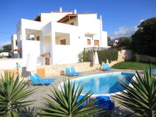 Exclusive Villa2 mit Pool und Meerblick 6 - 8 Pers, Platanias