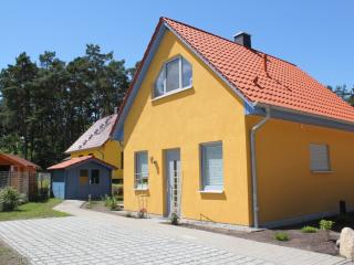 neues modernes Ferienhaus in ruhiger Waldrandlage, Loddin