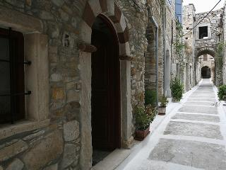 Traditional stone house in Medieval Village, Chios, Kalamoti