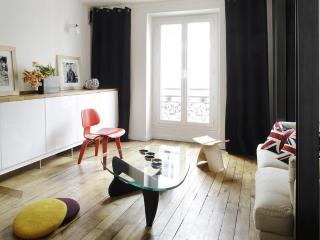 Butte Montmartre-Abbesses, 50m², design, 3 pers, Parijs