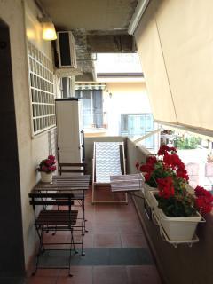 Il balcone attrezzato