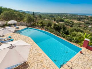 Stylish villa  with superb sea views from inside the House, among olive trees !