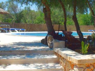 Sa Costa, bonita casa rústica con piscina, Campos