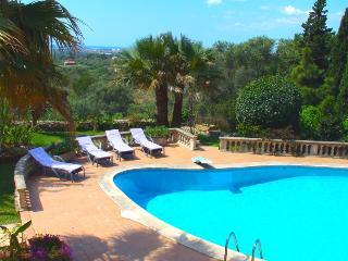Ses Veles, villa con piscina,wifi,preciosas vistas