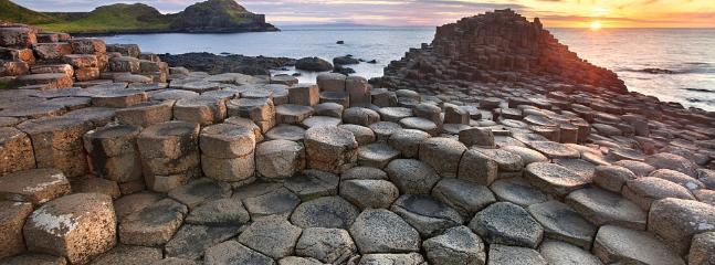 Giants Causeway 5 minutes drive away