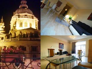 Luxury flat with amazing views of the Basilica, Budapeste