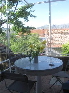 First terrace view