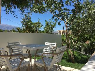 Almyrida sands-OMEGA- appartement 4pers 100m de la plage à pieds,vue mer