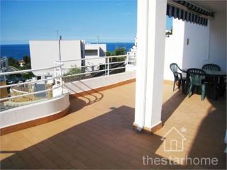 098 - Apartamento con terraza y vistas al mar, Llanca