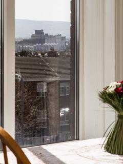 Brendan Behan wonderful view from the window.