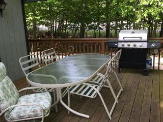 LAKEFRONT Chalet w/ Fireplace, Whirlpool, Deck