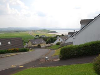 Sheephaven bay from the decking