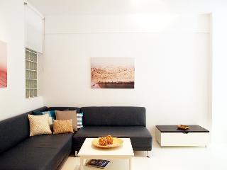 Modern apartment under Acropolis