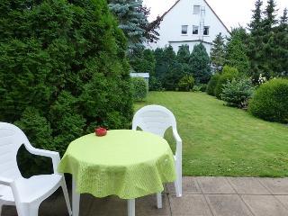 Gartenwohnung in Köln Brück mit eigenem Parkplatz