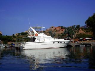 cabines sur bateau en navigation Nord Sardaigne