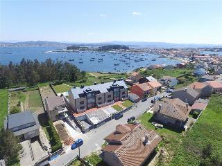 Luxurious brand new apartment with swimming pool on Isla de Arousa