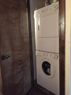 Washer and dryer in-unit, if needed.