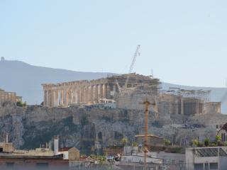 Athens studio with Acropolis view