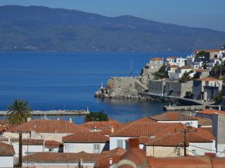 See Hydra town Panoramic sea view, Hydra Town