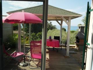 Soleil Couchant avec terrasse vue mer dans Villa, Olmeto