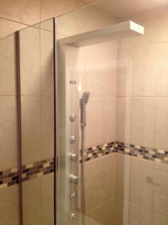 large multi head shower