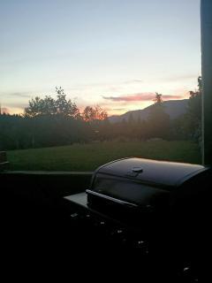 BBQ while watching the famous Cowichan sun set...