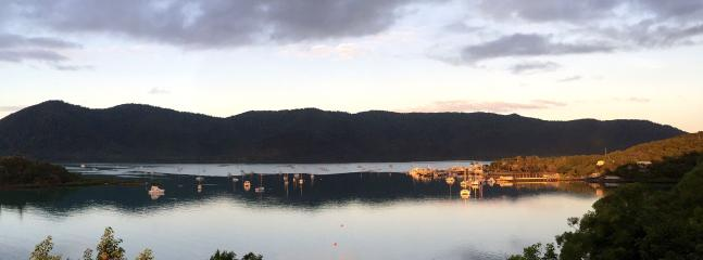Overlooking Shute Harbour Marina