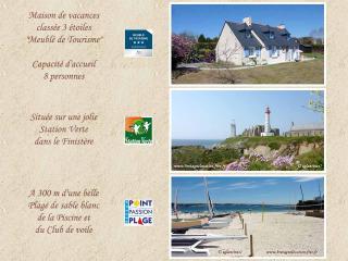 300m plage - Agréable maison de vacances 3 étoiles, Plougonvelin