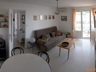 T2 45 m2, vue mer, balcon, parking, clim., La Ciotat