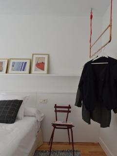 Detalle de la habitación.