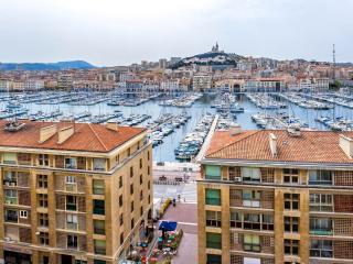 Appartement cosy vue sublime sur Vieux Port, Marseille