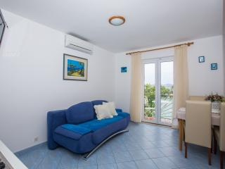 Apartment Blue with balcony and sea view, Zaton