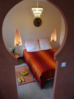 Chambre 3, un lit double et un lit en 80