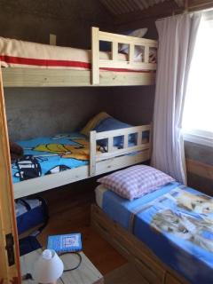 quarto solteiro - 3 camas