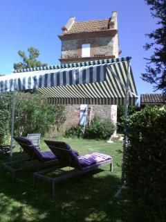 pigeonnier, jardin privé, bain de soleil