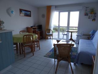 appartement bord de mer pour 2 pers et 1  enfant, Trevou-Treguignec