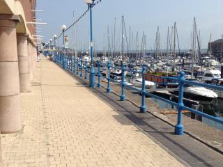 Marina walkway