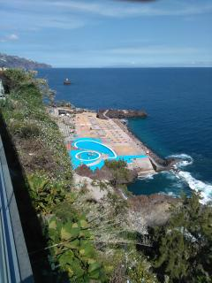 Sea pools 150mts from the apartment