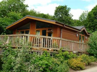 Luxury lodge on peaceful rural Holiday park, Prudhoe