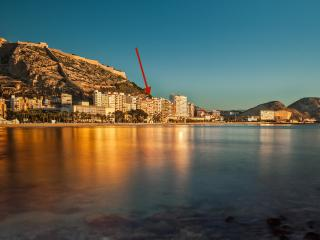 Ático centrico Frente a playa Postiguet Alicante