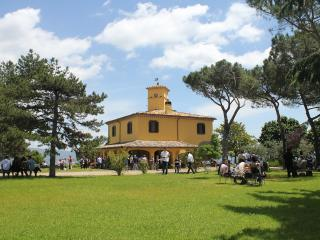 Fascinating historical mansion on a top of a hill, Graffignano